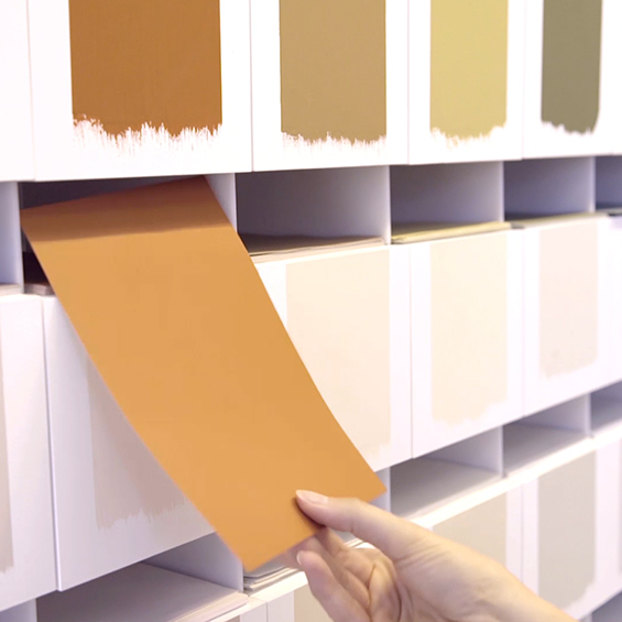 Levis atelier kleurenpaletten